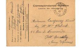 C1 1940 Carte FM Camp De Prisonniers D'AUTUN En Saone Et Loire - Marcophilie (Lettres)
