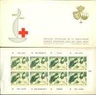 Belgie 1963 Boekje Eeuwfeest Rode Kruis Voorrang Frans OPB 1267A MNH - Booklets 1953-....