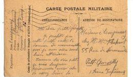 C1 1940 Carte FM Spéciale Du Camp De Prisonniers D'AUTUN En Saone Et Loire - Marcophilie (Lettres)