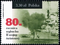 Poland 2019 Fi 5001 Mi 5151 80th Anniversary Of The Outbreak Of World War II - Nuevos