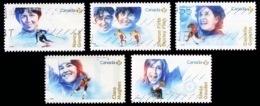 Canada (Scott No.3080-84 - Femmes Dans Les Sports) (o) Set - 1952-.... Règne D'Elizabeth II