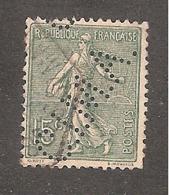 Perforé/perfin/lochung France No 130 C.I.M.A . Cie Internationale Des Machines Agricoles (179) - Perforés