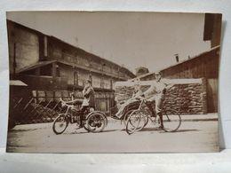 Loire. Bicyclette, Vélo, Sidecar. 5.5x8cm - Fotos