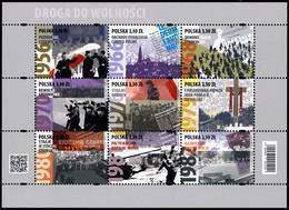 Poland 2020 Fi 5040-5048 Mi 5190-5198 Klb. The Road To Freedom - 1944-.... República