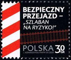 Poland 2020 Fi 5059 Mi 5209 Safe Passage - Barrier To Risk - 1944-.... República