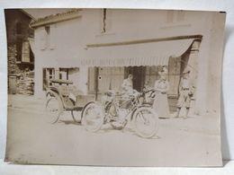 Loire. Bicyclette, Vélo, Calèche, Tricycle. 5.5x8cm - Anciennes (Av. 1900)