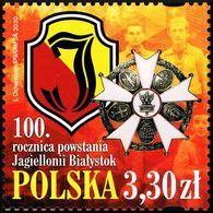 Poland 2020 Fi 5058 Mi 5208 100th Anniversary Of The Jagielonia Białystok Sports Club - 1944-.... República