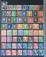 1945 (°) Oblitérés Année Complète YT 669 à 747 - 85 Valeurs (côte 46 Euros) – Fobleu - Francia