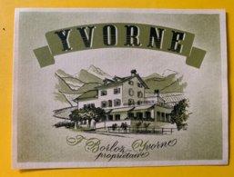 11563 - Yvorne F.Borloz - Etiquetas