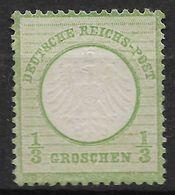 German Empire 1872 Michel 2  MH No Gum - Deutschland