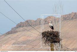 Azerbaijan Stamps 2019 The Nature Of Nakhchivan. White Stork Birds - Azerbeidzjan