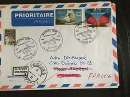 Villiers Sur Marne 2000 Naviphil Aviso La Grandiere Débarquement D'Inchon Retour à L'envoyeur - Marcophilie (Lettres)