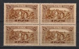Syrie - 1925 - N°Yv. 163 - Pont De Daphné - Bloc De 4 - Neuf Luxe ** / MNH / Postfrisch - Unused Stamps
