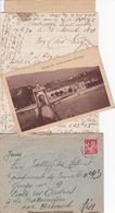 FRANCE LETTRE DE 1941 TIMBRES 1 FR IRIS / N° 433 / TAMPON A DATE SASSENAGE - Marcophilie (Lettres)