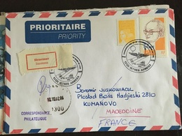 Istres Armées 2002 25eme Régiment Du Génie De L'air Retour à L'envoyeur - Marcophilie (Lettres)