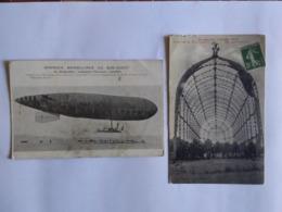 ALBI MANOEUVRES DIRIGEABLE ARMEE 1913 - Albi