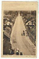 WORMHOUT - Panorama De La Route De Cassel - Circulée 1936 - Bon état - Wormhout