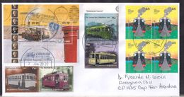 Argentina - 2020 - Lettre - Trains Antiques - Tramways Antiques - Storia Postale