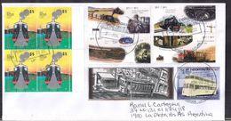 Argentina - 2020 - Lettre - Trains Antiques - Tramways Antiques - Argentinien