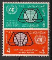 Yemen (YAR) - 1964 - N°Yv. 55 à 56 - Droits De L'homme - Neuf Luxe ** / MNH / Postfrisch - Jemen