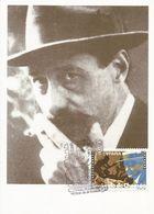 ESPAÑA 1994. TARJETA MÁXIMA SEGUNDO DE CHOMÓN. MATASELLO P.D.C. TERUEL. ARAGÓN - Maximum Cards