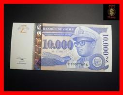 ZAIRE 10.000 10000 N. Zaires  30.1.1995  P. 70  Printer G & D  UNC- - Zaire