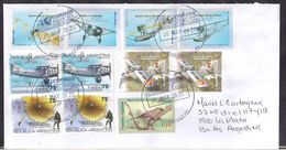 Argentina - 2020 - Lettre - Aviation Commerciale Aérienne - Avions - Argentinien
