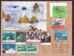 Argentina - 2020 - Lettre - Plésiosaure - Dinosaures En Antarctique - Fossile - Argentinien