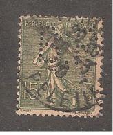 Perforé/perfin/lochung France No 130 B.P. (159) - Perforés