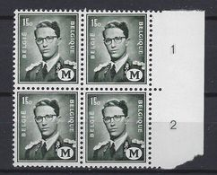 België OBC    M 1   (XX) - Military (M Stamps)