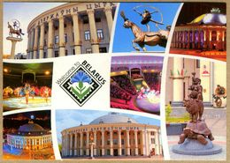 Postcard. Belarus. Minsk. Circus. Cirque. Zirkus. Circo. - Wassertürme & Windräder (Repeller)