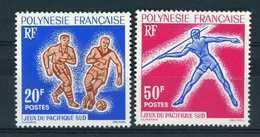 Polynésie  -  1963  :  Yv  22-23  ** - Unused Stamps