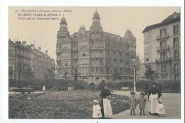 BILBAO : Plaza Eliptica Y Casa De D Paulino Sota - Edicion Mendizabal Y Arenaza N°27 - Vizcaya (Bilbao)