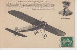 CPA Le Monoplan Morane Piloté Par Védrines ... Vainqueur De La Course Paris-Madrid - ....-1914: Precursors
