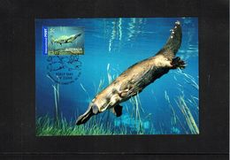 Australia 2006 Animals Platypus Interesting Maximumcard - Reptilien & Amphibien