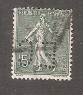 Perforé/perfin/lochung France No 130 E.C E. Cusenier Magasins Généraux - France