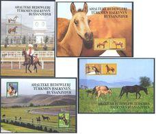 Turkmenistan 2005 Horses MNH ** - Horses