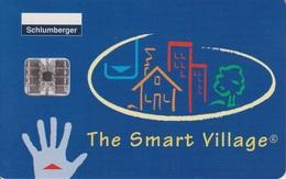Schlumberger The Smart Village - Ausstellungskarten