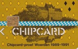 Chipcard Proof Woerden Pays-Bas - Ausstellungskarten