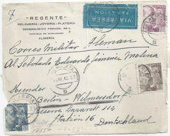Zensur Briefvs  Almeria - Berlin           1942 - 1931-Today: 2nd Rep - ... Juan Carlos I