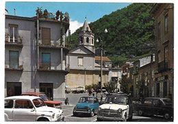 Lauria Superiore (Potenza). Piazza Visconti - Auto, Car, Voitures. - Potenza