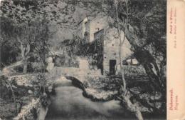CROATIA DUBROVNIK RAGUSA MLINI~POTOK U MLINIMA-BACH IN MOLINI VON BRENO POSTCARD 46720 - Croatie