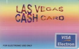 Las Vegas VISA Cashcard - Ausstellungskarten