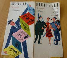 STUTTGART , Années 30 - Dépliants Touristiques