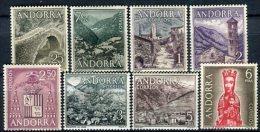 Andorra 1963. Edifil 60-67 ** MNH. - Ungebraucht