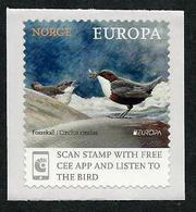 """NORUEGA/ NORWAY/ NORWEGEN/ NORVÈGE- EUROPA 2019 -NATIONAL BIRDS.-""""AVES - BIRDS - VÖGEL -OISEAUX""""- SELLO De STRIP 1 V. - 2019"""