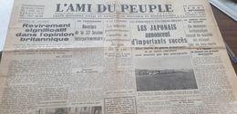 AMI DU PEUPLE 37 /GUERRE CHINE JAPON /GUERRE CIVILE ESPAGNE - Newspapers