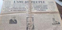 AMI DU PEUPLE 37 /ESPAGNE GUERRE /FLANDIN FRANCAIS SOLIDAIRES /NUREMBERG CONGRES NATIONAL SOCIALISTE /CHINE CHANGHAI - Newspapers