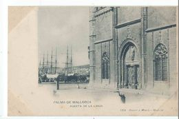 PALMA DE MALLORCA : Puerta De La Lonja - Edicion Hauser Y Menet N°1214 - Palma De Mallorca