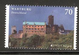 GERMANY 2017 EUROPA Wartburg Castle; Scott Catalogue No(s). 2972 MNH - 2017